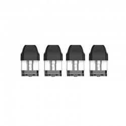 Authentic Uwell Caliburn KOKO Pod System Replacement Pod Cartridge w/ 1.4ohm Coil - Black, 2ml (4 PCS)