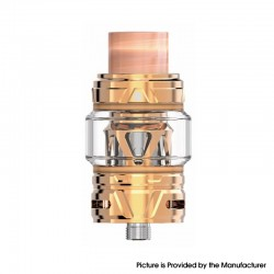 Authentic HorizonTech Falcon II Sub Ohm Tank Atomizer - Rose Gold, Stainless Steel + Resin, 5.5ml, 25.4 Diameter