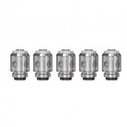 Authentic Vandy Vape Berserker BSKR S Replacement MTL Coil Head - Silver, 1.5ohm (7~15W) (5 PCS)