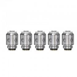 Authentic Vandy Vape Berserker BSKR S Replacement MTL Coil Head - Silver, 1.8ohm (7~13W) (5 PCS)