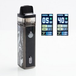 Authentic VOOPOO VINCI 40W 1500mAh VW Mod Pod System Starter Kit - Ink, 5~40W, 5.5ml (Standard Edition)