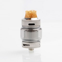 Authentic Goforvape Double UP RTA Rebuildable Tank Atomizer - SS, Stainless Steel + Glass, 2ml, 23mm Diameter