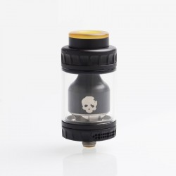 Authentic Dovpo Blotto RTA Rebuildable Tank Atomizer - Black, 2ml / 6ml, 26mm Diameter