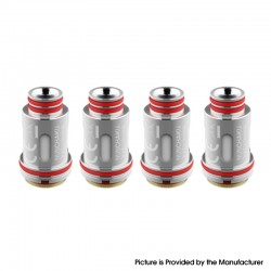 Authentic Uwell Replacement UN2 Meshed-H Coil Head for Nunchaku 2 Tank - Silver, 0.14ohm (4 PCS)