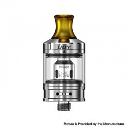 Authentic IJOY NIC Tank Clearomizer - Mirror SS, Stainless Steel + Glass, 2.0ml, 0.8ohm / 1.2ohm, 21mm Diameter