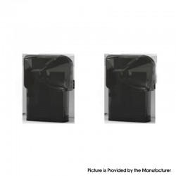 Authentic VEIIK Cracker Pod System Replacement Pod Cartridge - Black, 2ml (2 PCS)
