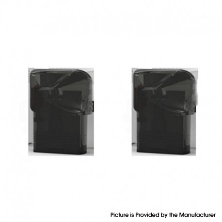 Authentic VEIIK Cracker Pod System Replacement Pod Cartridge - Black, 2ml (2 PCS)