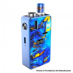 Authentic Hugo Vapor Kylin 30W VW Variable Wattage Mod Pod System Starter Kit - Blue Ocean, Aluminium Alloy + Resin, 2ml, 5~30W