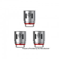 [Ships from HongKong 2] Authentic SMOK V12-T12 Coil Heads for SMOK TFV12 Cloud Beast King Tank - 0.12 ohm (60~350W) (3 PCS)