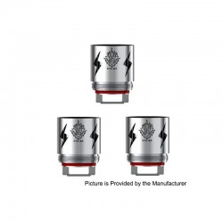 [Ships from HongKong 2] Authentic SMOKTech V12-Q4 Coil Heads for SMOK TFV12 Cloud Beast King Tank - 0.15 ohm (60~190W) (3 PCS)