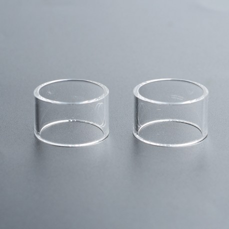 Authentic Steam Crave Aromamizer Lite Replacement Glass Tank Tube - Transparent, 3.5ml (2 PCS)