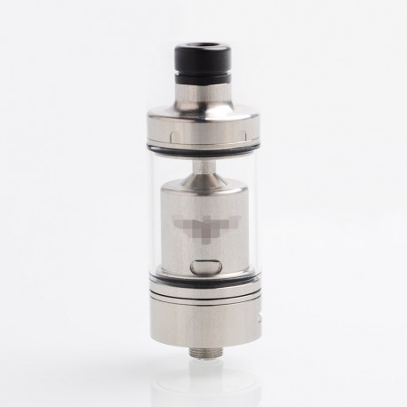 ShenRay Value Greek Style MTL RTA Rebuildable Tank Atomizer - Silver, 316SS + Glass, 4ml, 22mm Dia. (Juice Control Version)