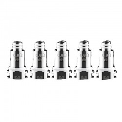 Authentic DOVPO Peaks Pod System Replacement DTL Mesh Coil Head - Silver, 0.8ohm (5 PCS)