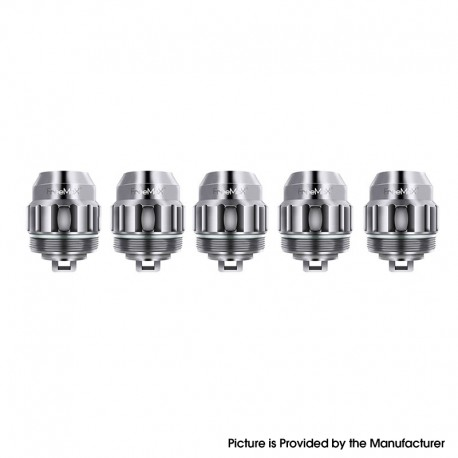 Authentic FreeMax Twister Replacement TX1 Mesh Coil Head for Fireluke 2 Tank - Silver, 0.15ohm (40~90W) (5 PCS)