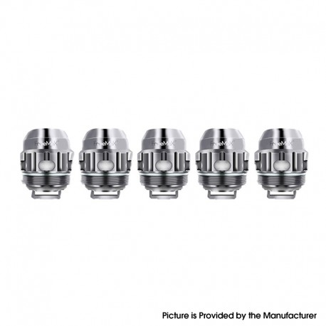 Authentic FreeMax Twister Replacement TX3 Mesh Coil Head for Fireluke 2 Tank - Silver, 0.15ohm (50~90W) (5 PCS)