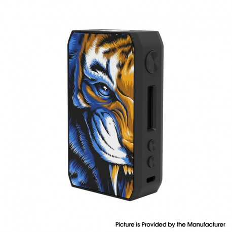 Authentic CIGPET Capo 126W VW Variable Wattage Regulated Box Mod - Tiger, PCTJ, 1~126W, 2 x 18650
