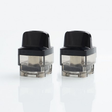 Authentic VOOPOO VINCI Mod Pod Replacement Empty Pod Cartridge - Black, PCTG, 0.1~3.0ohm, 5.5ml (2 PCS)