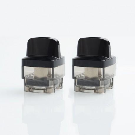 Authentic VOOPOO VINCI / VINCI X Mod Pod Replacement Empty Pod Cartridge - Black, PCTG, 0.1~3.0ohm, 5.5ml (2 PCS)