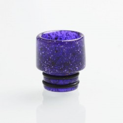 Authentic Reewape AS115E 510 Drip Tip for RDA / RTA / RDTA / Sub-Ohm Tank Atomizer - Purple, Resin, 13mm