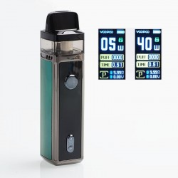 Authentic VOOPOO VINCI 40W 1500mAh VW Mod Pod System Starter Kit - Dazzling Green, 5~40W, 5.5ml (Standard Edition)