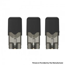 Authentic OVNS JC01 Pro Pod Kit Replacement Pod Cartridge w/ 1.5ohm Ceramic Coil - Black, 1.0ml (3 PCS)