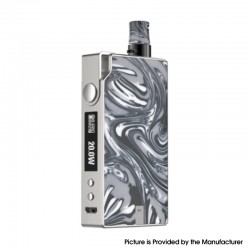 Authentic Vaporesso Degree Meshed 30W 950mAh VW Box Mod Pod System Starter Kit - Marble, 2ml, 0.6ohm / 1.3ohm, 5~30W