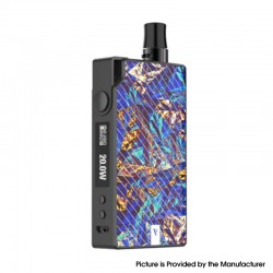 Authentic Vaporesso Degree Meshed 30W 950mAh VW Box Mod Pod System Starter Kit - Blue, 2ml, 0.6ohm / 1.3ohm, 5~30W