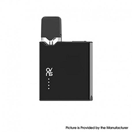 Authentic Ovns JC01 Pro 400mAh Box Mod AIO Pod System Starter Kit - Black, 1.0ml, 1.5ohm