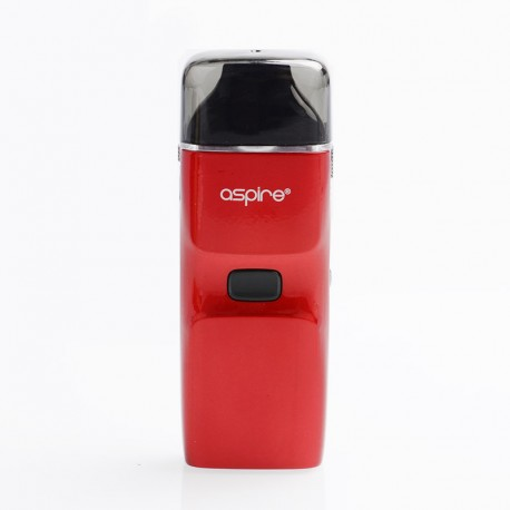 Authentic Aspire Breeze NXT 1000mAh Pod System Starter Kit - Red, Zinc Alloy + Silicone, 0.8ohm, 5.4ml