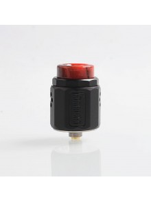 Authentic Damn Vape Dread RDA Rebuildable Dripping Atomizer w/ BF Pin - Black, Stainless Steel, 24mm Diameter
