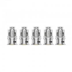 Authentic Voopoo PnP-M2 Half-DL Single Mesh Coil for DRAG Baby/FIND Trio/VINCI/VINCI R/VINCI X - Silver, 0.6ohm (20~28W) (5 PCS)