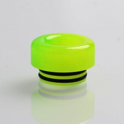 Authentic Reewape AS181 Replacement 810 Drip Tip for SMOK TFV8 / TFV12 Tank / Kennedy - Green Yellow, Resin, 11mm