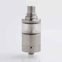 Sine Style MTL RTA Rebuildable Tank Atomizer - Silver, 316 Stainless Steel, 4.2ml, 22mm Diameter