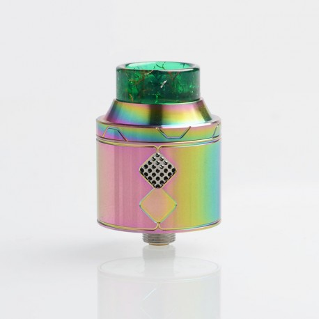 Authentic Goforvape Eternal RDA Rebuildable Dripping Atomizer - Rainbow, Stainless Steel, 25mm Diameter
