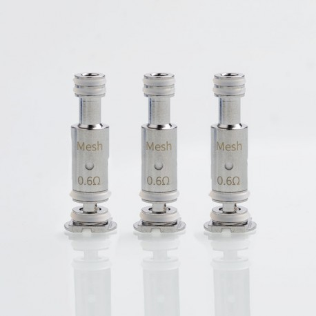 Authentic Smoant Replacement Mesh Coil Head for Battlestar Baby Pod Kit - 0.6ohm (3 PCS)