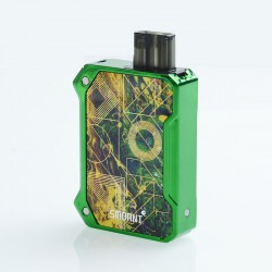 Authentic Smoant Battlestar Baby 750mAh Box Mod Pod System Starter Kit - Green, 2ml, 0.6ohm / 1.2ohm