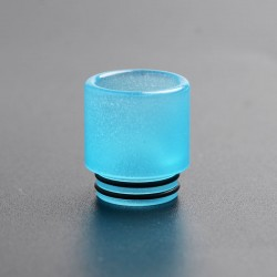 810 Replacement Drip Tip for SMOK TFV8 / TFV12 Tank / Kennedy / Battle / CSMNT Cosmonaut / Reload RDA - Blue, Acrylic