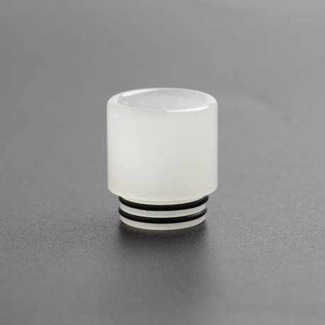 810 Replacement Drip Tip for SMOK TFV8 / TFV12 Tank / Kennedy / Battle / CSMNT Cosmonaut / Reload RDA - Milky White, Acrylic