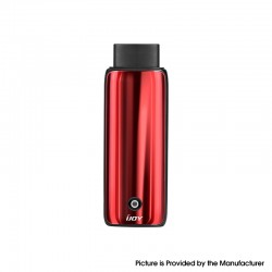 Authentic IJOY Neptune AIO 650mAh Pod System Starter Kit - Crystal Red, Zinc Alloy + Curved Glass, 1.8ml, 1.0ohm
