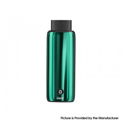 Authentic IJOY Neptune AIO 650mAh Pod System Starter Kit - Jade Green, Zinc Alloy + Curved Glass, 1.8ml, 1.0ohm