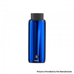 Authentic IJOY Neptune AIO 650mAh Pod System Starter Kit - Ocean Blue, Zinc Alloy + Curved Glass, 1.8ml, 1.0ohm
