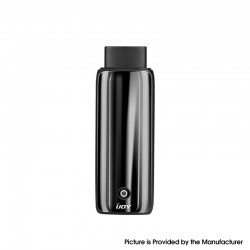 Authentic IJOY Neptune AIO 650mAh Pod System Starter Kit - Midnight Black, Zinc Alloy + Curved Glass, 1.8ml, 1.0ohm