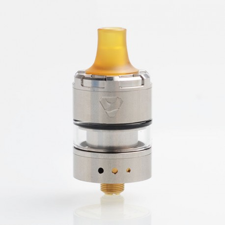 Authentic Advken Manta V2 MTL 2.0 RTA Rebuildable Tank Atomizer - SS, Stainless Steel + Glass, 2ml, 22mm Diameter