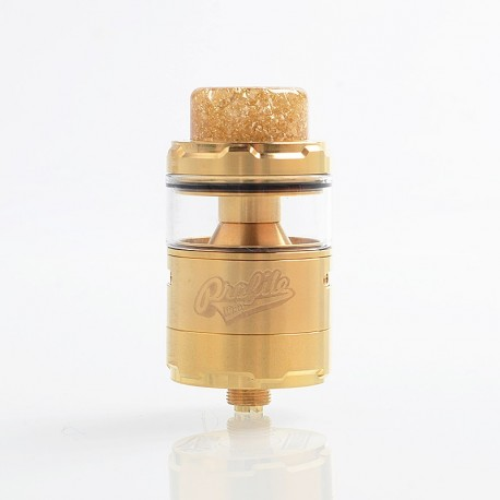 [Ships from HongKong] Authentic Wotofo Profile Unity RTA Rebuildable Tank Atomizer - Gold, Stainless Steel, 5ml, 25mm Diameter