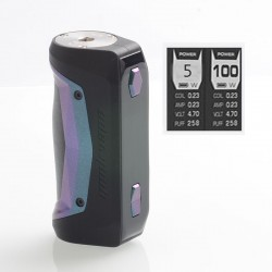 [Ships from HongKong] Authentic GeekVape Aegis Solo 100W TC VW Variable Wattage Box Mod - Green, 5~100W, 1 x 18650