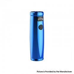 [Ships from HongKong] Authentic Uwell Nunchaku 2 100W TC VW Variable Wattage Vape Mod - Blue, 5~100W, 1 x 18650 / 20700 / 21700