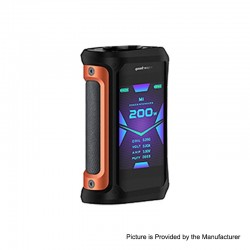 [Ships from HongKong] Authentic GeekVape Aegis X 200W TC VW Variable Wattage Box - Signature Orange, 5~200W, 2 x 18650