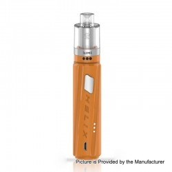 [Ships from HongKong] Authentic Digiflavor Helix Box Mod + GeekVape Lumi Tank Starter Kit - Orange, 1 x 18650, 0.3 Ohm, 4ml