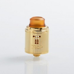 [Ships from HongKong] Authentic Digiflavor Drop Solo RDA Rebuildable Dripping Atomzier w/ BF Pin - Gold, SS, 22mm Diameter