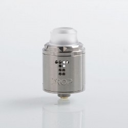 [Ships from HongKong] Authentic Digiflavor Drop Solo RDA Rebuildable Dripping Atomzier w/ BF Pin - Silver, SS, 22mm Diameter